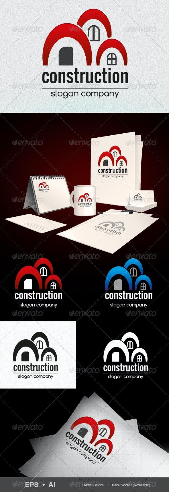 Construction-Logo - Buildings Logo Templates