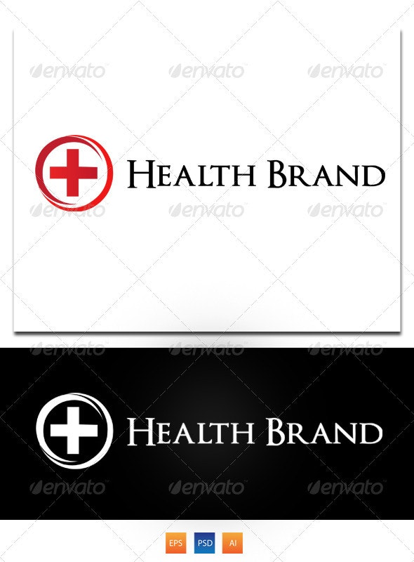 Health Brand - Letters Logo Templates