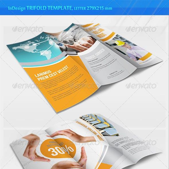 Business Trifold Brochure - v2
