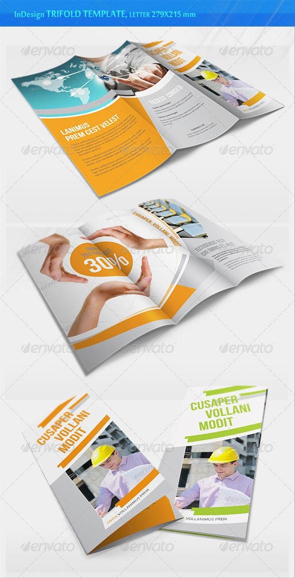 Business Trifold Brochure - v2 - Corporate Brochures