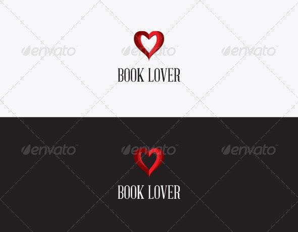 Book Lover Logo - Symbols Logo Templates