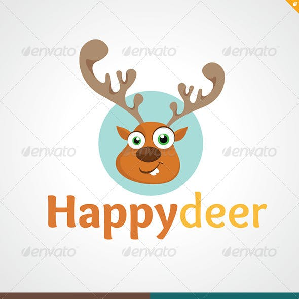 Happy Deer Logo