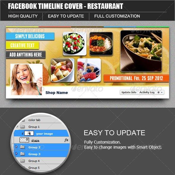 FB Timeline Cover Restaurant