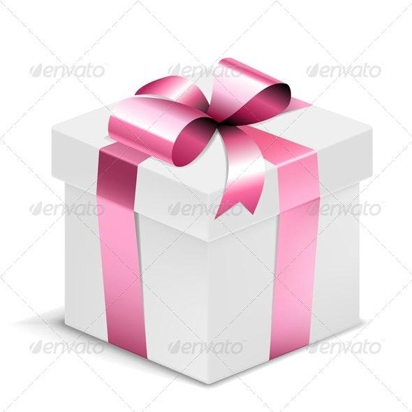 Vector Gift Box - Seasons/Holidays Conceptual