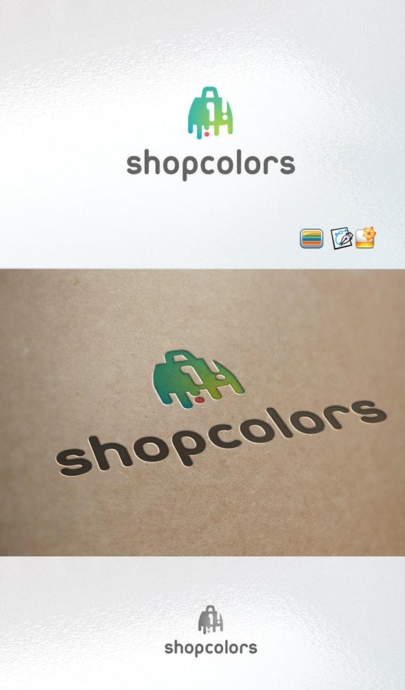 Color Shop Logo - Objects Logo Templates