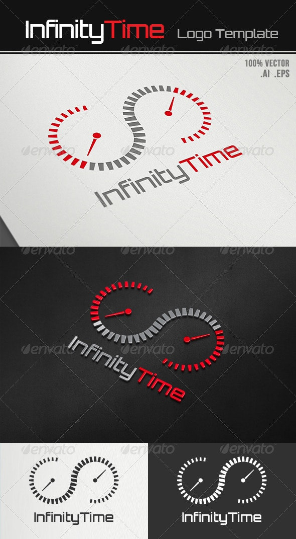 Infinity Time Logo - Symbols Logo Templates