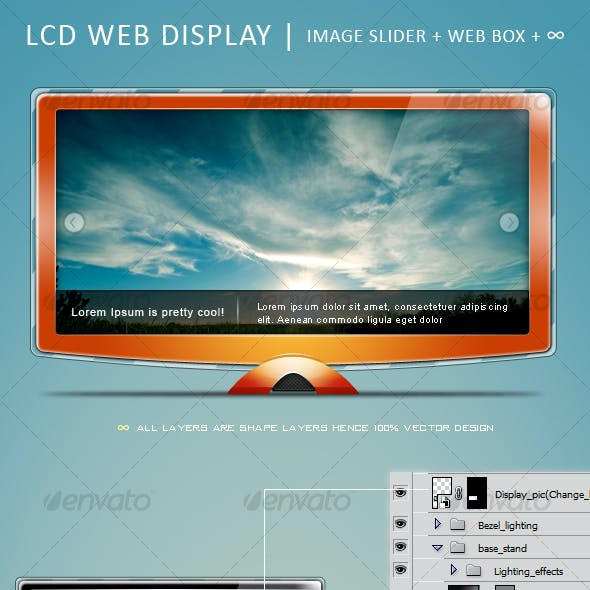 LCD Web Display