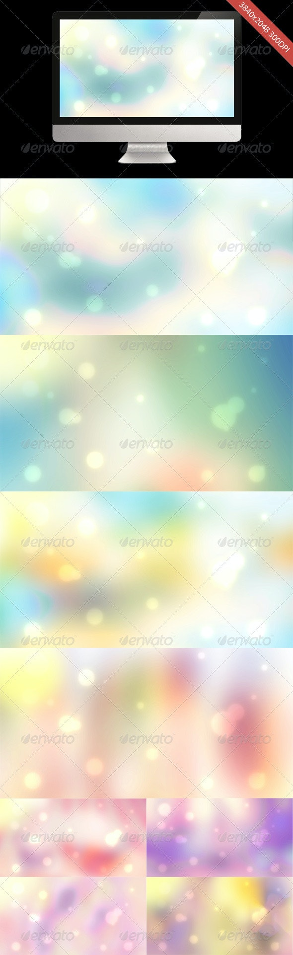 8 Blur Abstract Backgrounds - Abstract Backgrounds