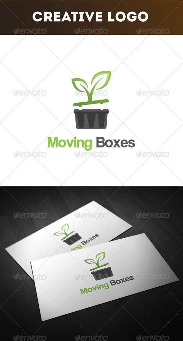Moving Boxes Logo - Nature Logo Templates