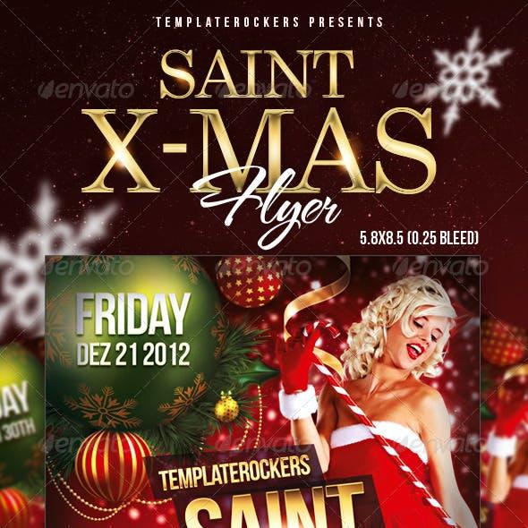 Saint X-Mas Flyer