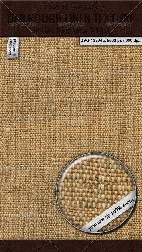 Old Rough Linen Texture (Hi-Res) - Fabric Textures