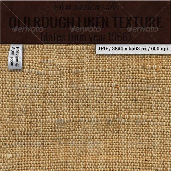 Old Rough Linen Texture (Hi-Res)