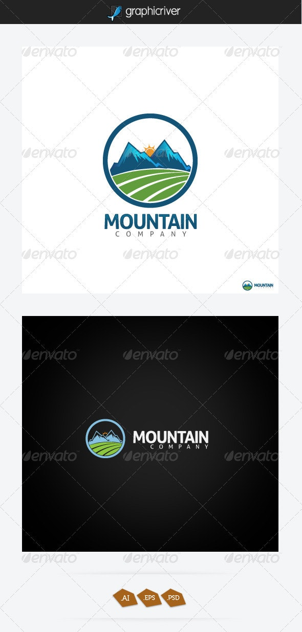 Mountain Logo - Symbols Logo Templates