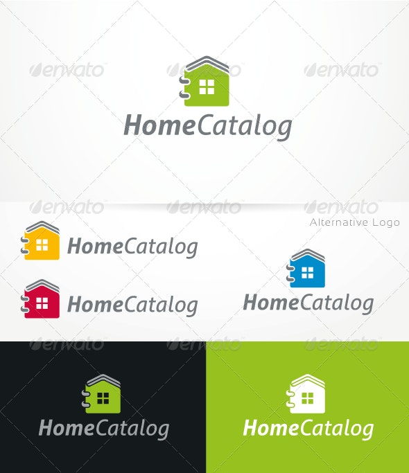 HomeCatalog V.1 - Logo Template - Buildings Logo Templates