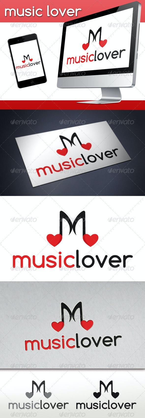 Love Music Logo - Symbols Logo Templates