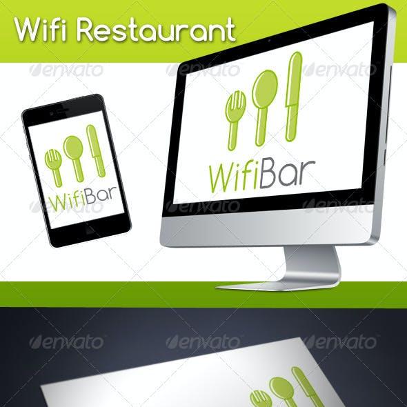 Wifi Restaurant Logo