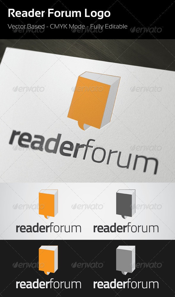 Reader Forum Logo - Symbols Logo Templates