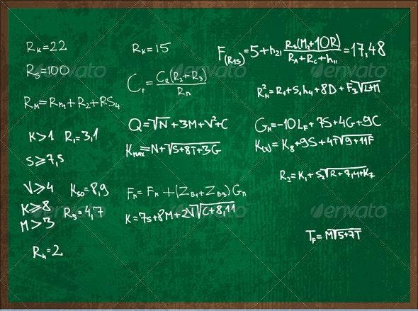 Blackboard - Abstract Conceptual