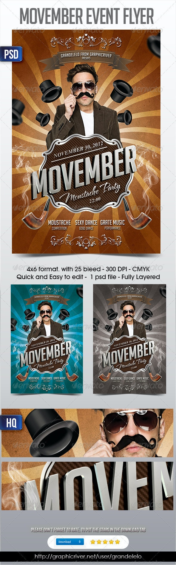 Movember Fyer - Holidays Events