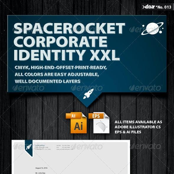 Space Rocket Corporate Identity XXL