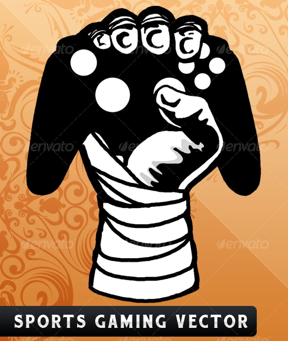 Sports Controller Vector - Miscellaneous Characters