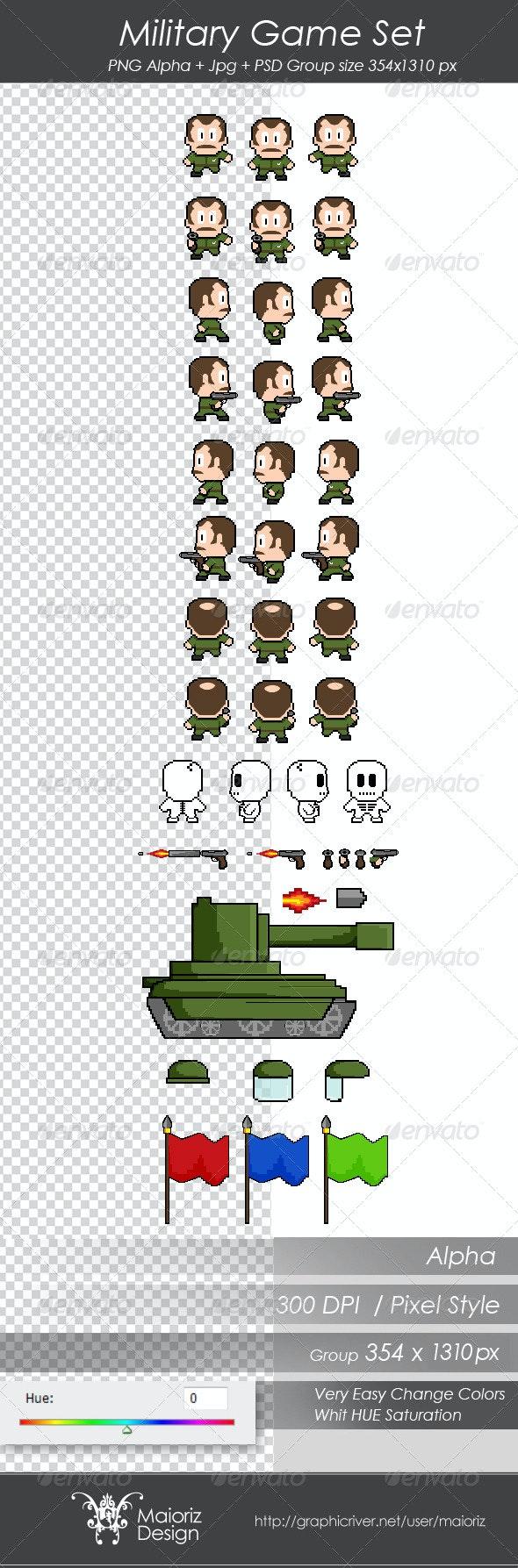 Military Game Set