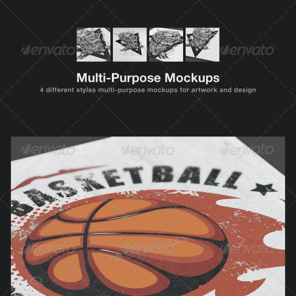 Multi-Purpose Mockups