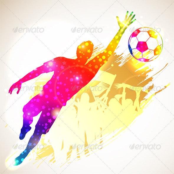 Soccer Goalkeeper - Sports/Activity Conceptual