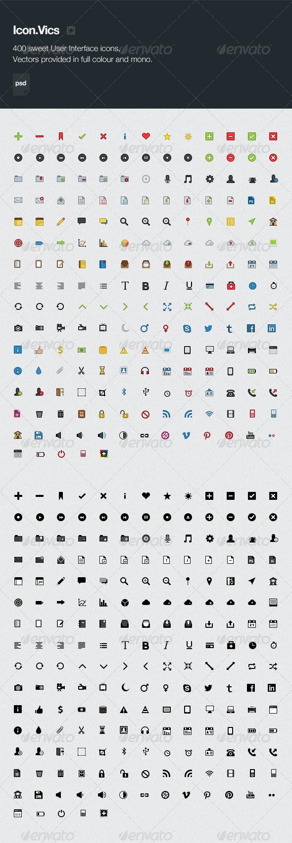 Icon.Vics - Web Icons