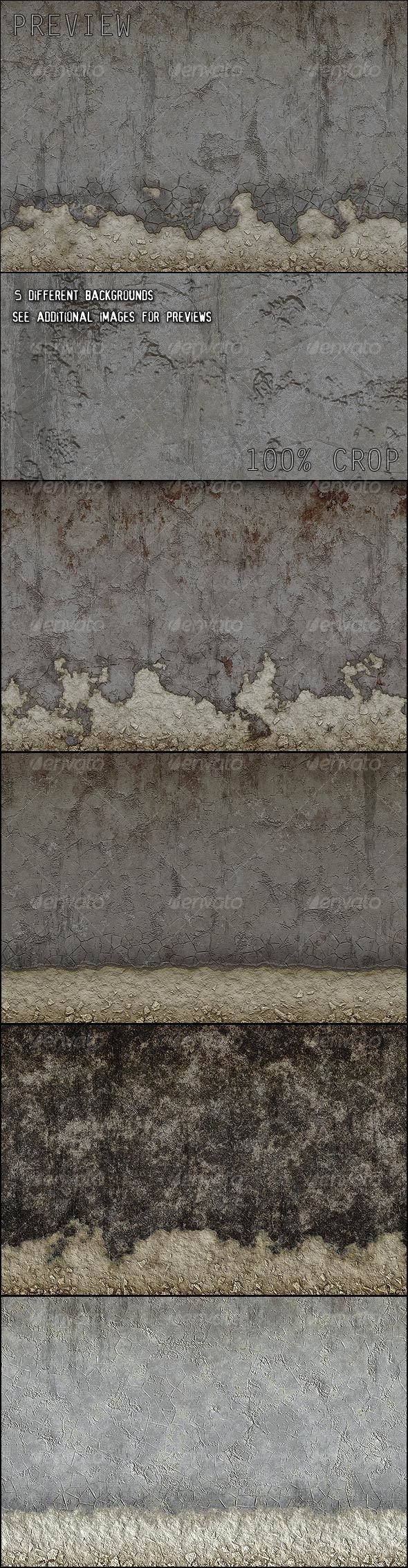 Grunge Walls Backgrounds - Backgrounds Graphics