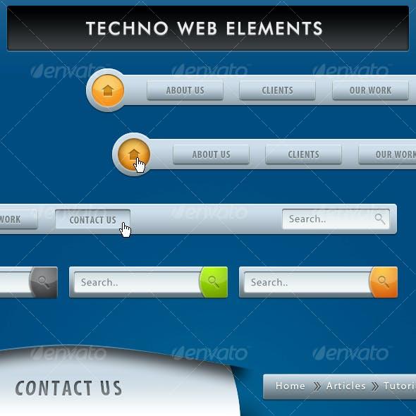 Techno Web Elements