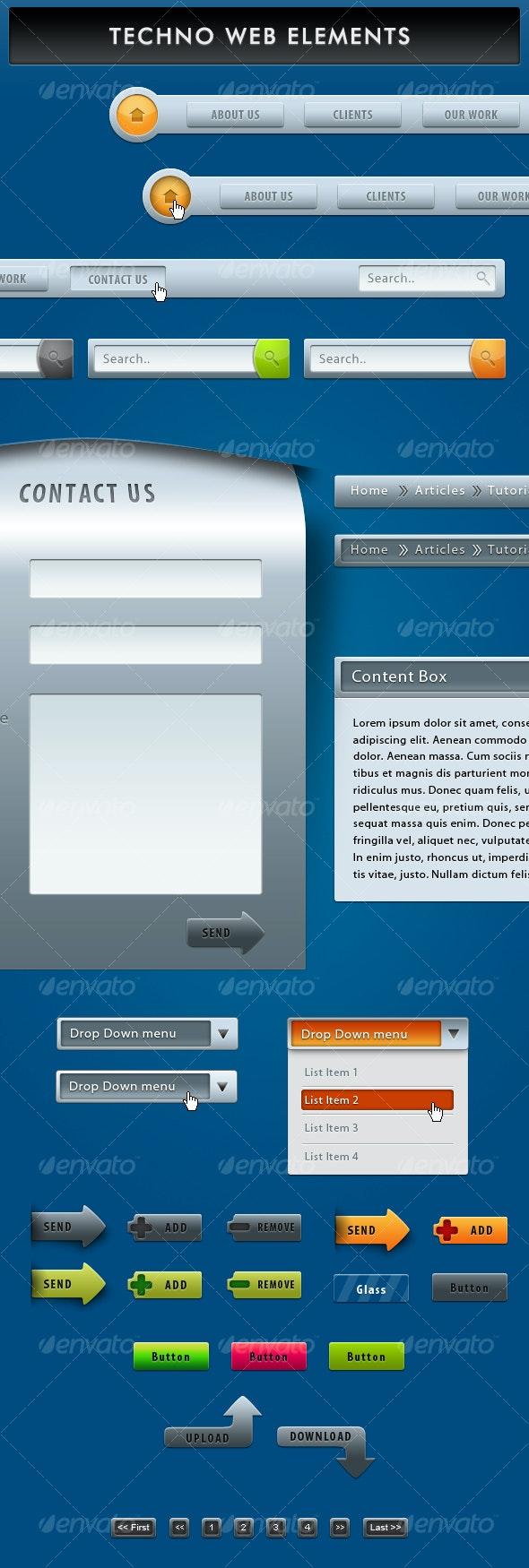 Techno Web Elements - Web Elements