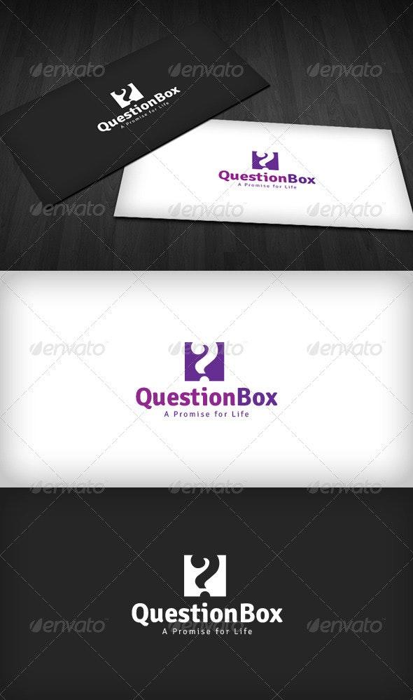 Question Box Logo - Vector Abstract