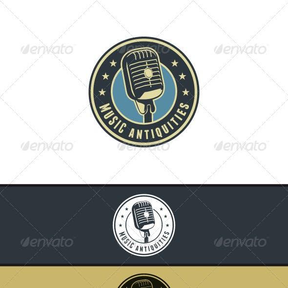 Music Antiquities Logo