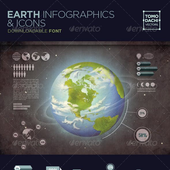 Earth Infographics and Icons