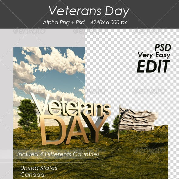 Veterans Day Edit Image