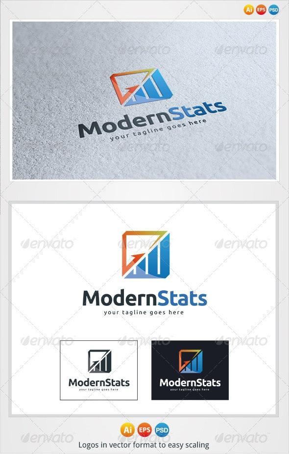 Modern Stats Logo - Symbols Logo Templates
