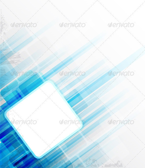 Blue Abstract Background - Abstract Conceptual