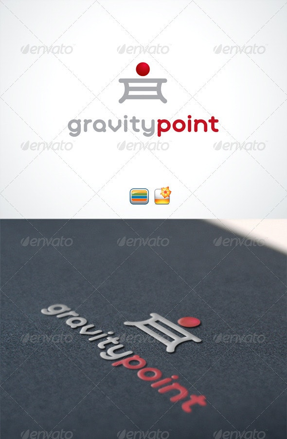 Gravity point - Vector Abstract