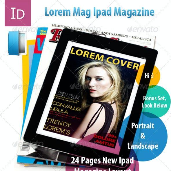 Lorem PadMag-24 Pages Lifestyle Magazine