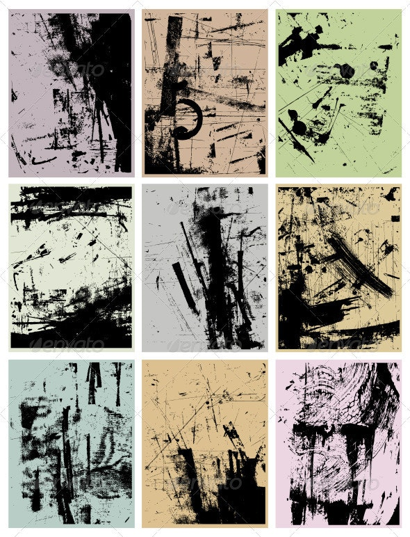 Grunge Vector Backgrounds  - Backgrounds Decorative
