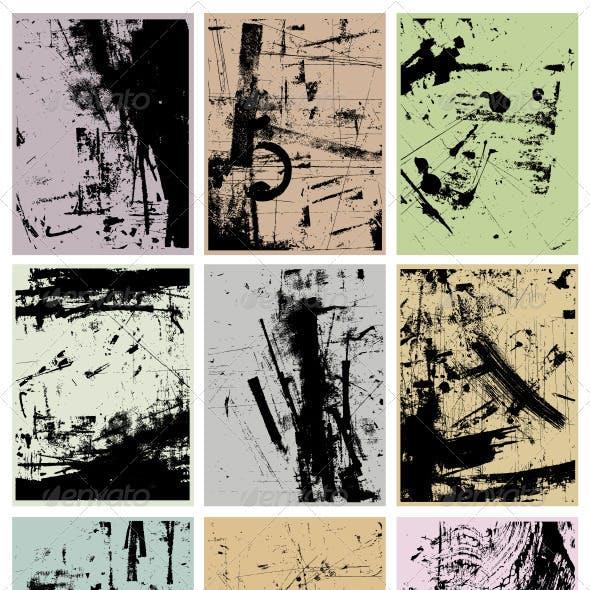 Grunge Vector Backgrounds