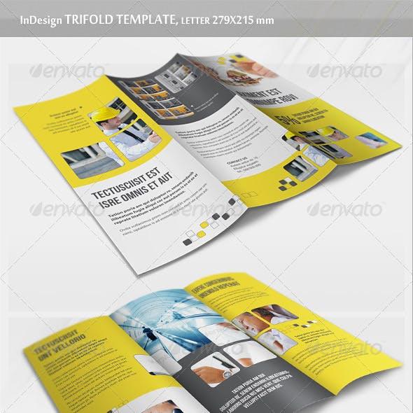Business Trifold Brochure - v3