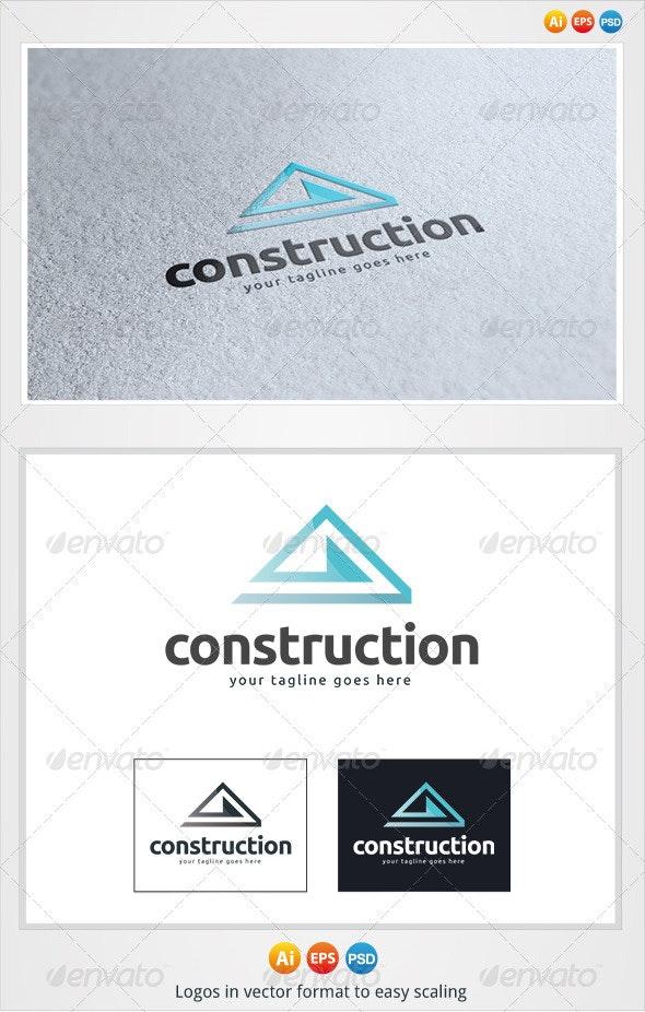 Construction Logo - Buildings Logo Templates