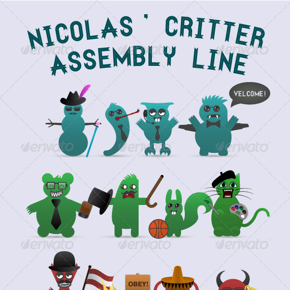Creative Kit: Nicolas' Critter Assembly Line