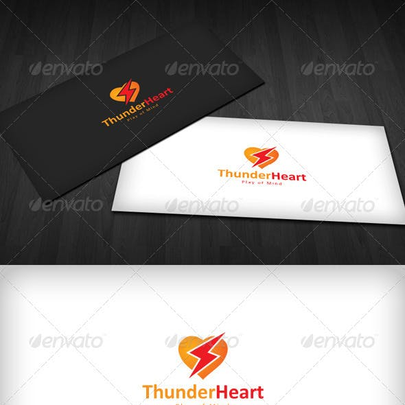 Thunder Heart Logo