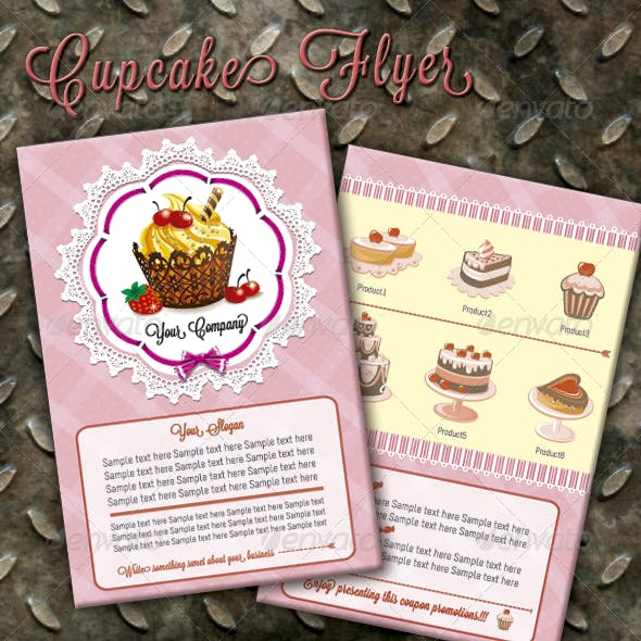 Cupcakes Flyer