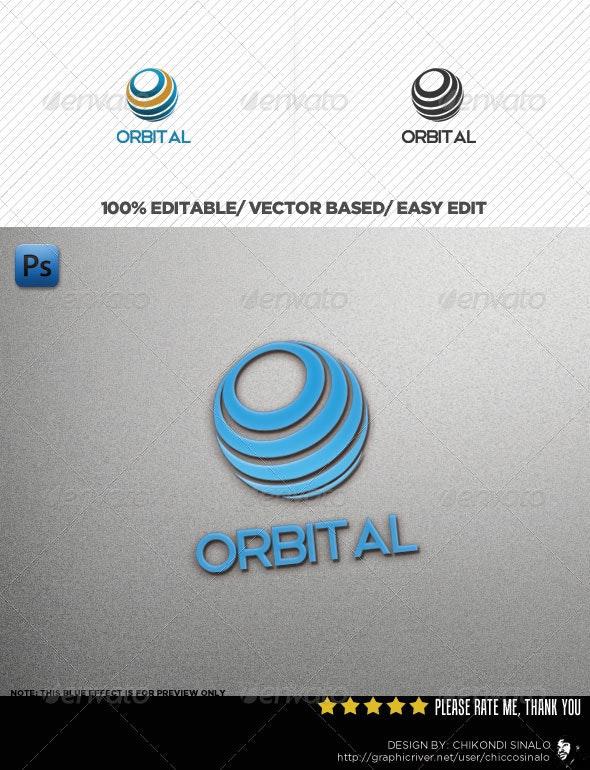 Orbital Logo Template - Abstract Logo Templates