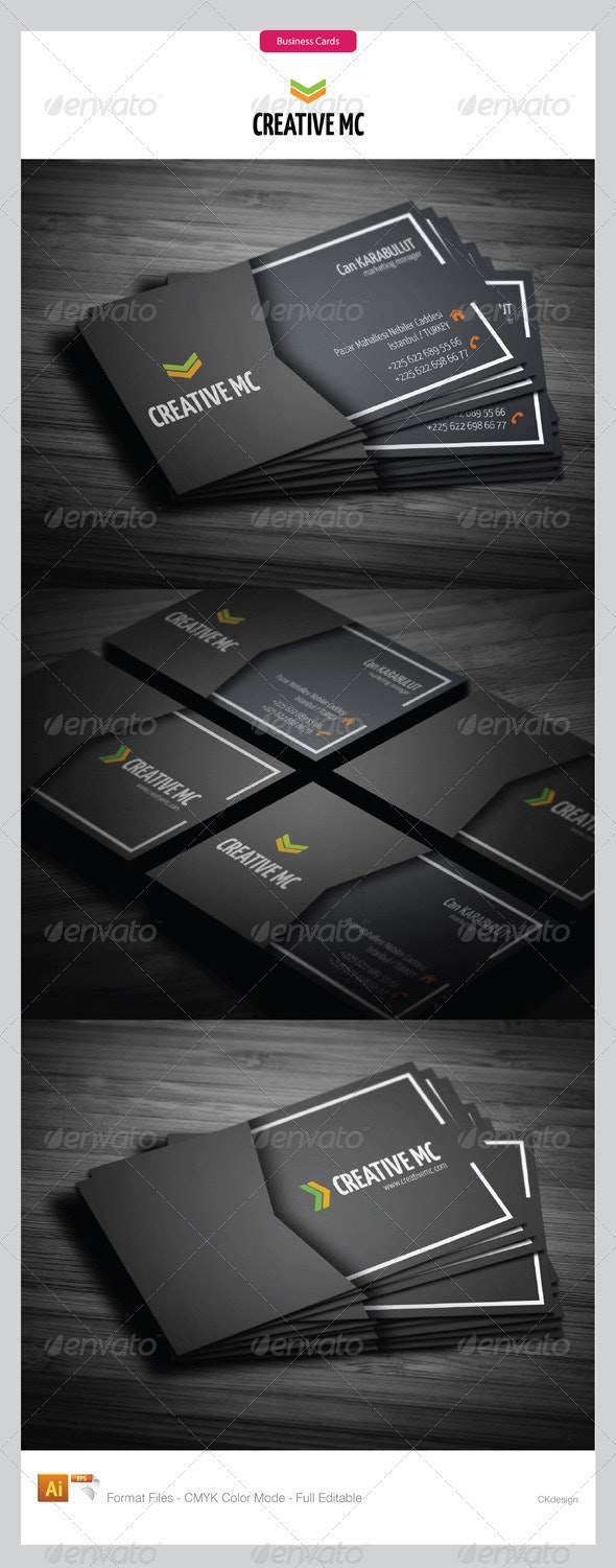 corporate business cards 154 - Creative Business Cards