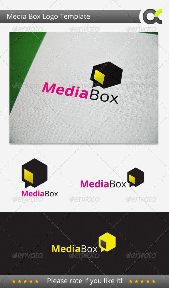Media Box Logo - Symbols Logo Templates